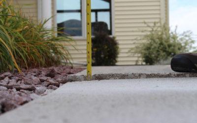Benefits to Raising Concrete with Polyurethane Foam